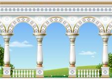 Классический свод восточного дворца Стоковое Фото