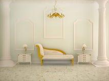 классический спать интерьера Стоковое Фото