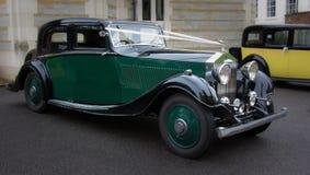 Классический старый Rolls Royce стоковые фотографии rf