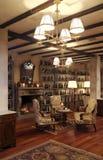 классический тип комнаты Стоковая Фотография