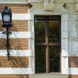 Классический фасад в вене стоковое фото rf