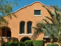 Классический юго-западный дом дизайна стоковое фото