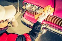 Классическое восстановление автомобиля Стоковые Фото