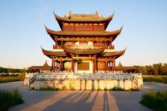 классическое зодчества китайское Стоковые Изображения RF