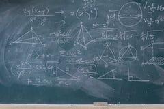 Классн классный с математически Стоковая Фотография