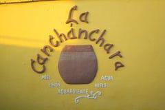 Классн классный canchanchara Ла Стоковая Фотография