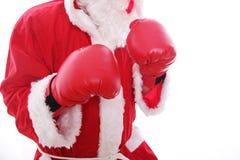 Класть в коробку Дед Мороз Стоковые Фото