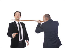 класть давления бизнесмена Стоковые Изображения RF