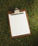 класть травы clipboard Стоковые Фото