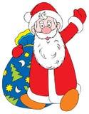 клаузула santa Стоковая Фотография RF