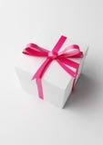 кладет подарок в коробку славный Стоковое Фото