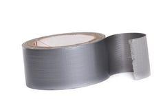 Клейкая лента для герметизации трубопроводов отопления и вентиляции крена Стоковое Изображение RF