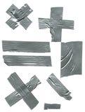 клейкая лента для герметизации трубопроводов отопления и вентиляции Стоковое фото RF