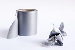 клейкая лента для герметизации трубопроводов отопления и вентиляции Стоковое Фото