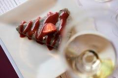 Клейковина освобождает десерт Стоковое Фото