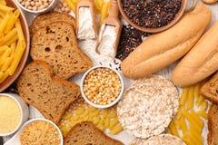Клейковина освобождает еду Стоковые Фото