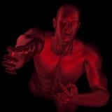 клекот дьявола s иллюстрация штока