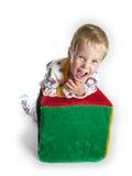 клекот мальчика Стоковая Фотография