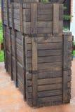 клети деревянные Стоковые Изображения