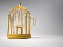 клетка птицы Стоковое Изображение