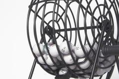клетка bingo стоковое изображение rf