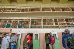 Клетки изоляции Alcatraz Стоковое фото RF
