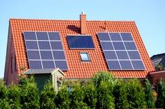 клетки приводят солнечное в действие Стоковые Изображения