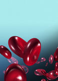 клетки сини крови предпосылки Стоковые Фотографии RF