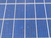клетки солнечные Стоковое Изображение RF