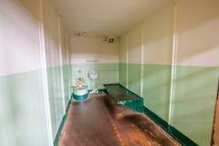 Клетки Alcatraz черные как смоль Стоковое Фото