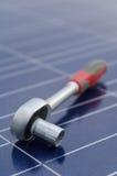 клетки ratchet солнечный ключ Стоковые Фото
