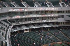 клетчатая белизна sox u поля s chicago Стоковое Изображение