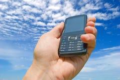 клетчатая поставка обслуживания телефонов требования стоковое фото rf