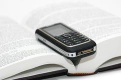 клетчатый мобильный телефон Стоковые Изображения