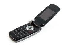клетчатый мобильный телефон стоковая фотография rf