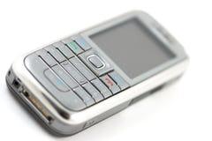клетчатый телефон макроса Стоковое Фото