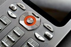 клетчатый телефон панели металла Стоковое Изображение