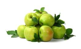 клеть яблок органическая изолировано Fruits предпосылка варить Вытрезвитель Стоковое Изображение
