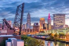 Кливленд, Огайо, США Стоковые Изображения RF