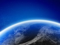 Климат земли от космоса иллюстрация вектора