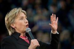 Клинтон hillary горизонтальный Стоковое Изображение RF