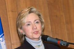 Клинтон hillary Стоковое Изображение