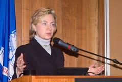 Клинтон hillary Стоковое Изображение RF