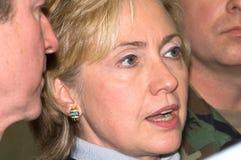Клинтон hillary Стоковая Фотография