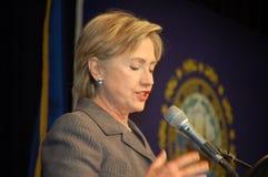 Клинтон hillary Стоковое Фото
