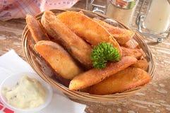 клин картошки Стоковое Изображение RF