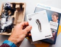 Клипер u серии 9000 клипера волос Philips профессиональный цифровой Стоковые Изображения