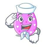 Клиппирование мультфильма пасхального яйца матроса на пути бесплатная иллюстрация