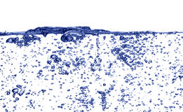 клокоча вода Стоковые Фото