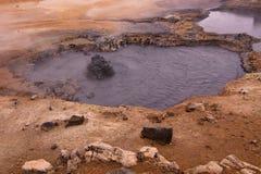 клокоча грязь Стоковая Фотография RF